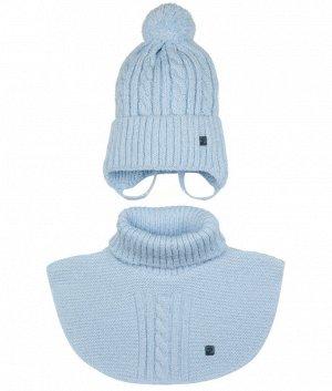 18-49-F (44-46) (шапка+манишка) Комплект