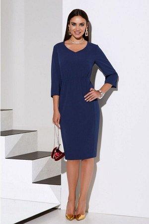 Жакет, платье Lissana 4082 синий