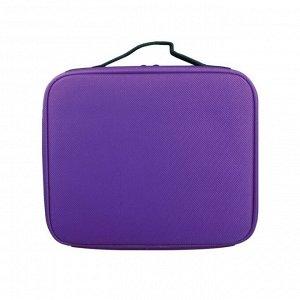 Кейс для маникюрных принадлежностей малый (Фиолетовый)