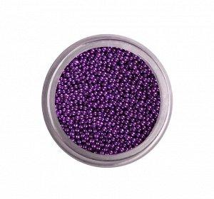 BLISE- Бульонки стеклянные 25 - фиолетовые