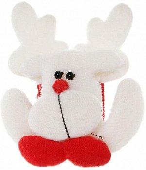 Детский новогодний браслет (Олень)СВЕТЯЩИЙСЯ