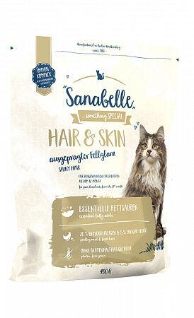 Sanabelle Hair&Skin сухой корм для кошек 0,4 кг