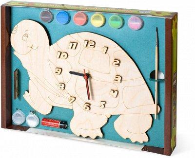 Игромания! Играем в старые игры по новому. — Часы с циферблатом под роспись —  Настольные и карточные игры