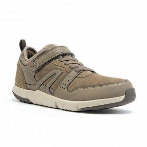 Кроссовки для ходьбы мужские Actiwalk Easy Leather бежевые