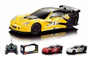 Автомобиль  р/у R/C 1:24 CADILLAC CORVETTE RACING CAR  866-2417 (1/36)