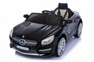 Машина на аккумуляторе для катания детей Mercedes-Benz SL63 (черная)