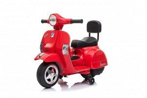 Мотоцикл на аккумуляторе для катания детей A008, PX-150  (красный)