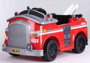 Машина на аккумуляторе для катания детей JJ3166 (красный)