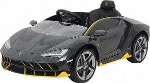 Машина на аккумуляторе для катания детей Lamborghini 6726R (серый)