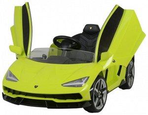 Машина на аккумуляторе для катания детей Lamborghini 6726R (зеленый)
