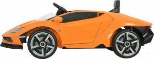 Машина на аккумуляторе для катания детей Lamborghini 6726R (оранжевый)
