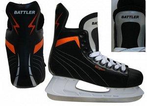 Коньки хоккейные BATTLER PW-206G р.41 (1/6)