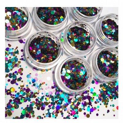 Гель лаки и дизайн для ногтей BLUESKY / COFEX / BLISE — Дизайн - блестки, бульонки, камифубуки, стразы — Дизайн ногтей