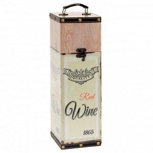 Шкатулка для бутылки, L11 W11 H35 см