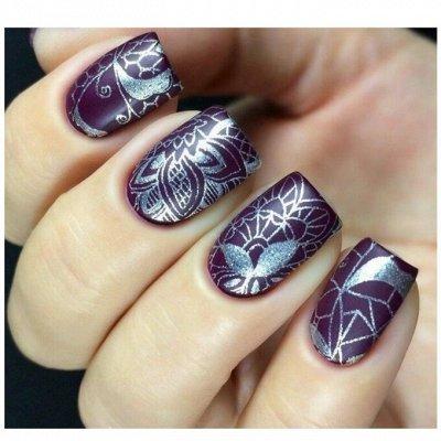 Гель лаки и дизайн для ногтей BLUESKY / COFEX / BLISE — Стемпинг — Дизайн ногтей