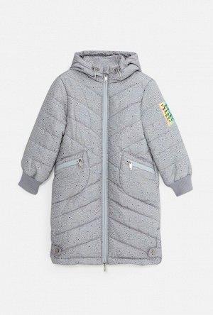 20220130245 (серый принт) Куртка детская