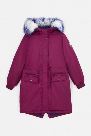 20210130235 (бордовый) Куртка детская