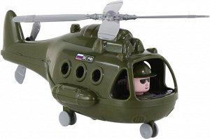 И1 Вертолет Военный Альфа  28 см сетка 72436 БЕЛАРУСЬ