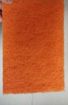Набор губок 10х7,5х2см, 3шт, цв.оранжевый Brush Pad ВЭД