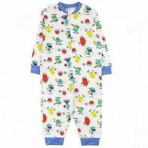 Комбинезон футер 0884301003 для новорожденного