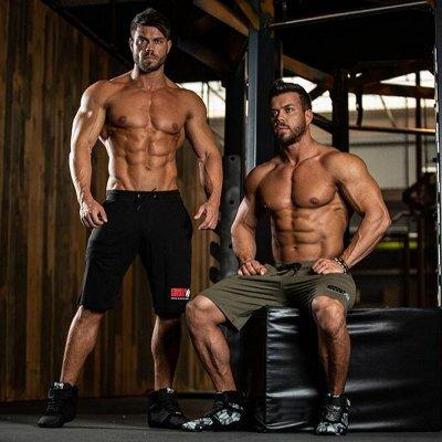 Женская и мужская одежда для фитнеса.Мировые бренды. — Шорты/Штаны — Для мужчин