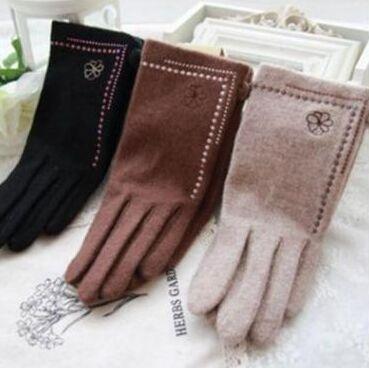 РАСПРОДАЖА /Детская одежда 2 и 7/ -50% скидка от цены на ВСЁ — Перчатки женские — Вязаные перчатки