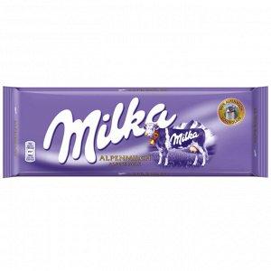 Шоколад Милка Milka - Альпийское Молоко ,100гр