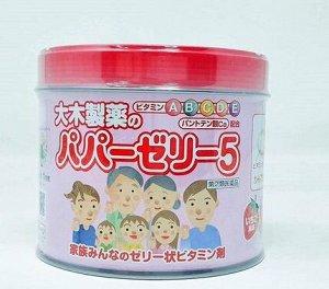 Papa jelly витамины для детей (в банке)