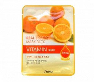 Тканевая маска для лица с Витамином