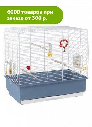 Клетка для птиц RECORD 4 (белая) 60x32,5x57,5 см (1см между прутьями)