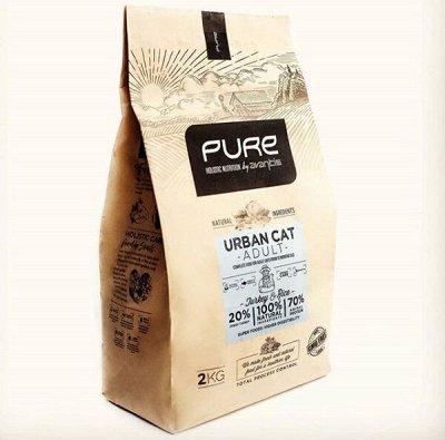 Экологичный наполнитель (Ю. Корея), пеленки, когтеточки — Pure by Avantis — корм холистик для кошек и собак. Акция