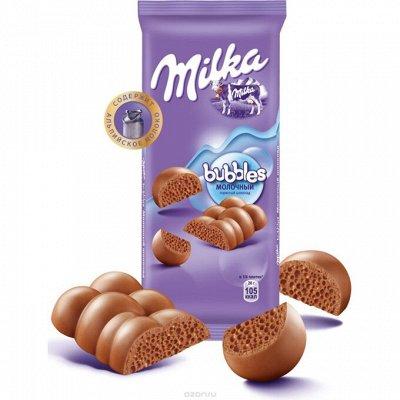Св. в счете Milka и другие сладости к НОВОГОДНИМ ПРАЗДНИКАМ — Шоколад — Шоколад