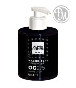 Estel alpha homme масло-гель для бритья 275 мл