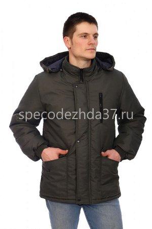 """Куртка-ветровка """"Walk"""" цв.хаки тк.таслан"""