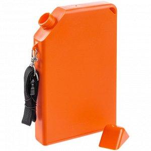 Бутылка для воды Flatbed, оранжевая