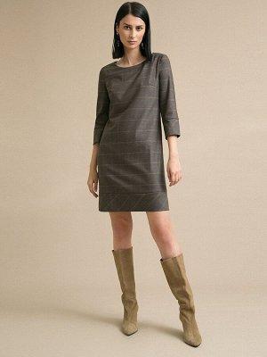 Платье в клетку PL914/weyda