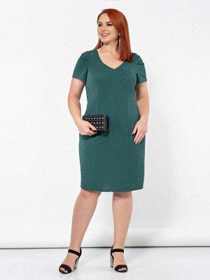 Платье 0195-1 зеленый
