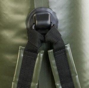 Драйбег 90л (d33/h125cm) с лямками хаки Helios (HS-DB-9033125-HL)