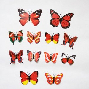 3D бабочки  для декора на булавках