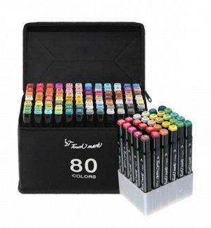 Маркеры для скетчинга. Touch mark маркер 80 цветов