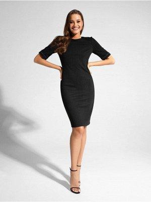 Платье-футляр с легким мерцанием люрекса LPL 1039 19С-828ТСП