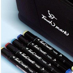 Touch mark маркер 24 цвета двусторонние/ маркеры для скетчинга