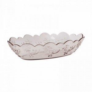 Салатник Салатник  1,0л [НАСЛАЖДЕНИЕ]. Салатник «Наслаждение» выполнен из высококачественного пищевого полистирола, который имитирует стекло. Рельефная форма в сочетании с прозрачным материалом застав