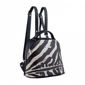 Рюкзак Женский рюкзак из классической коллекции бренда El Masta. Рюкзак полукаркасный, размер средний. Молодежный стиль, в носке очень удобный. Благодаря выбранным фактурам смотрится модель стильно и