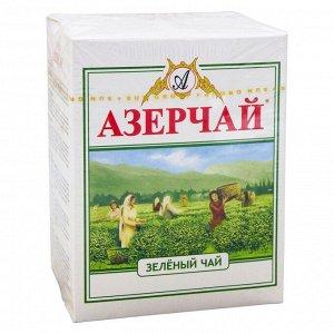 Чай зеленый 100гр картон кр.лист Азерчай