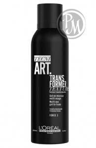 Loreal tecni art transformer gel гель-мусс трансформер для укладки волос 150 мл габ
