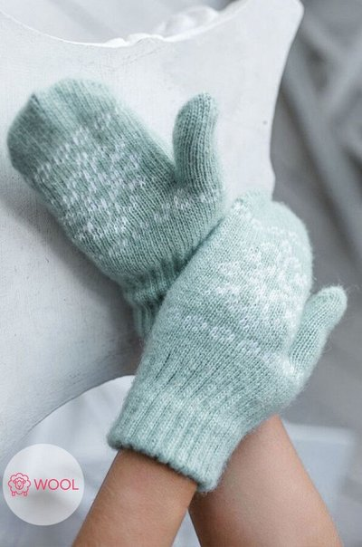 Яркий Трикотаж для всей семьи 57! — Женщинам. Аксессуары. Варежки, перчатки — Перчатки и варежки