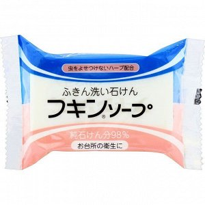 """Кухонное хозяйственное мыло """"Fukin Soap"""" (с мятой) / кусок 135 г / 24"""
