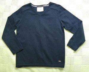 Пуловер на мальчика синий 124-128