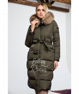 Пуховое пальто для зимыАртикул: 1962-2-110-H-L